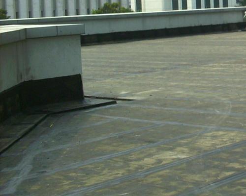 membran bakar untuk mengatasi kebocoran atap